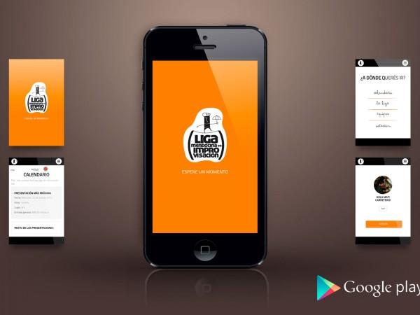 Aplicación Android – Liga Mendocina de Improvisación