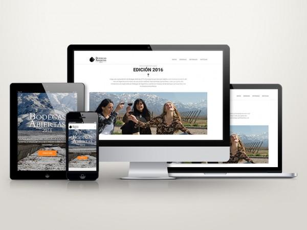 Bodegas Abiertas – Sitio Web
