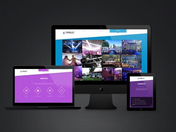 Carbajo DJs – Sitio Web
