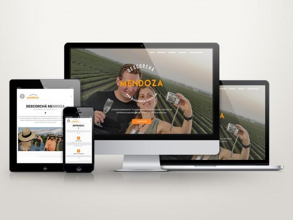 Descorchá Mendoza – Sitio Web
